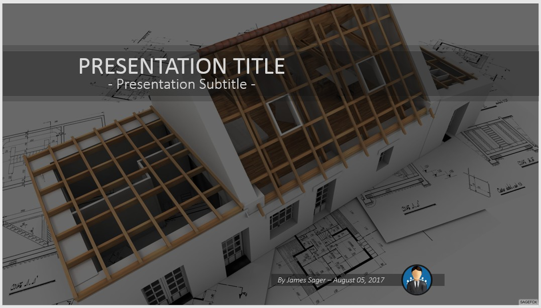 Free construction PowerPoint #78739 | SageFox PowerPoint Templates.