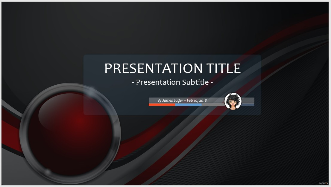 Free Abstract Ppt   Sagefox Powerpoint Templates