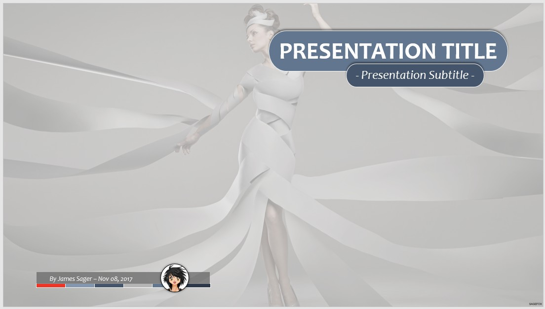 Free fashion model ppt 78168 sagefox powerpoint templates by james sager toneelgroepblik Image collections