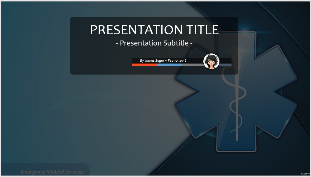 Free emergency medical services ppt 80099 sagefox powerpoint by james sager toneelgroepblik Images