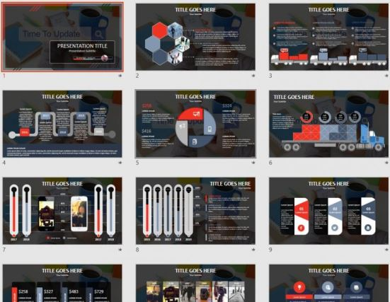 Free Time To Update Powerpoint 102311 Sagefox Powerpoint Templates