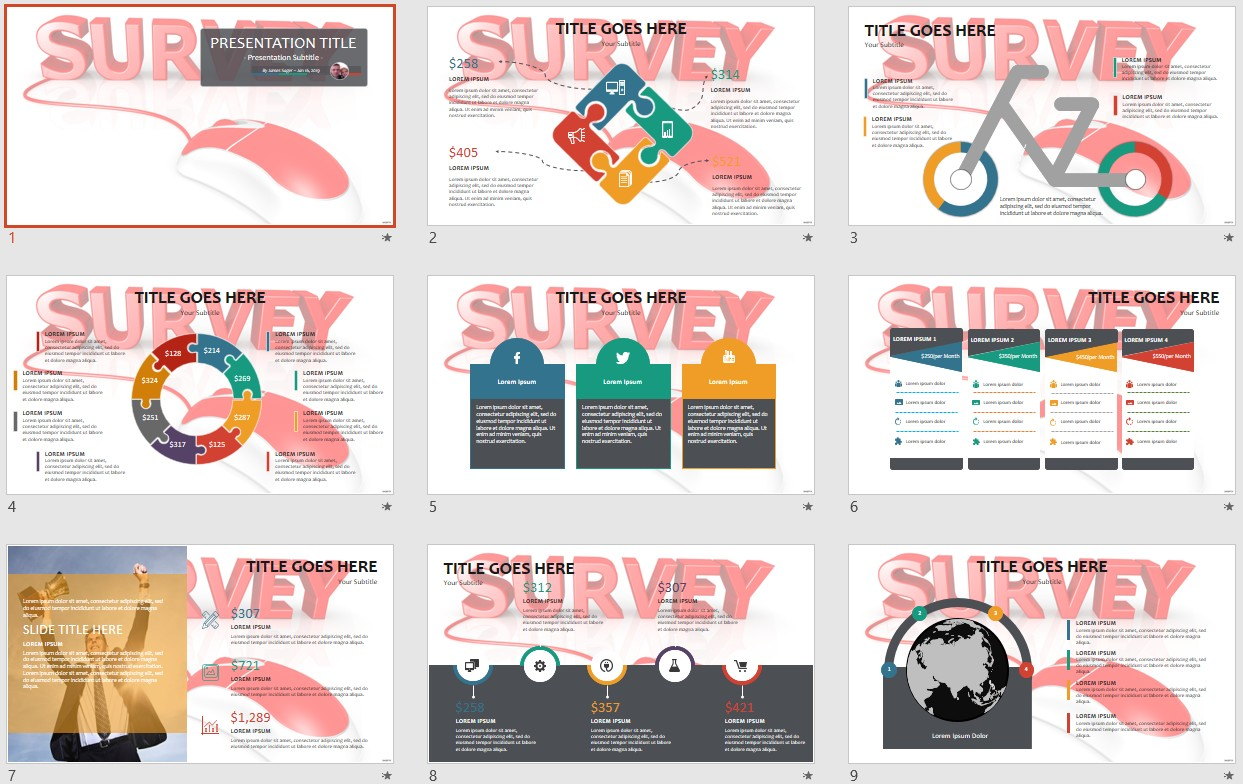 Free survey powerpoint 105909 sagefox powerpoint templates please share this free powerpoint template alramifo Image collections