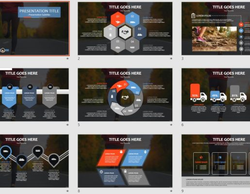 Running powerpoint free running powerpoint templates sagefox free running powerpoint toneelgroepblik Images