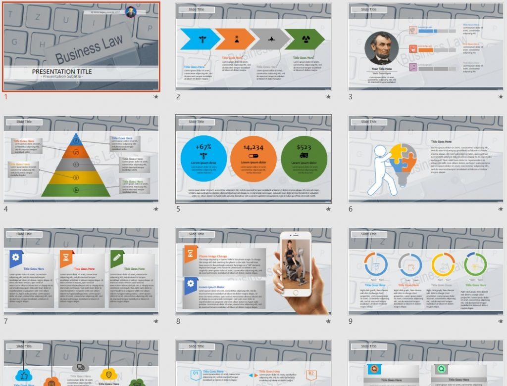 Free business law powerpoint 40759 sagefox powerpoint templates by james sager toneelgroepblik Choice Image