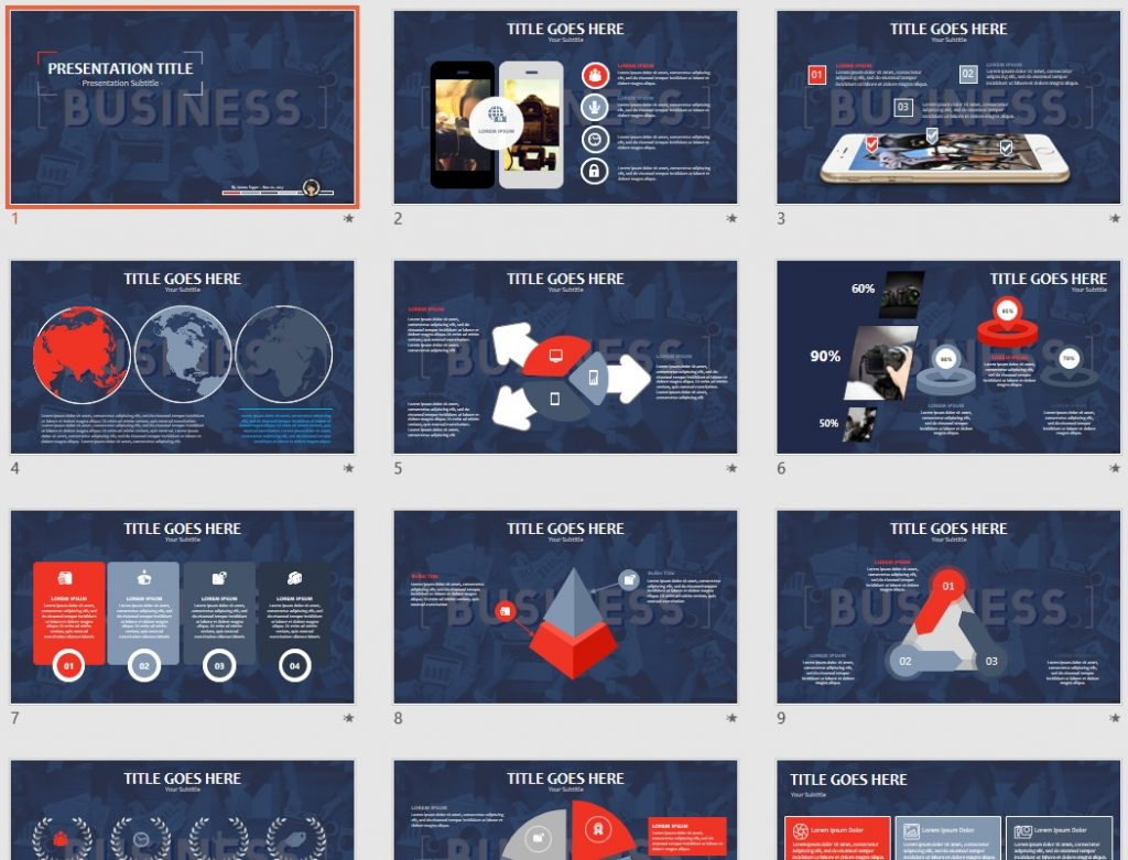 Free business powerpoint 92244 sagefox powerpoint templates by james sager accmission Choice Image