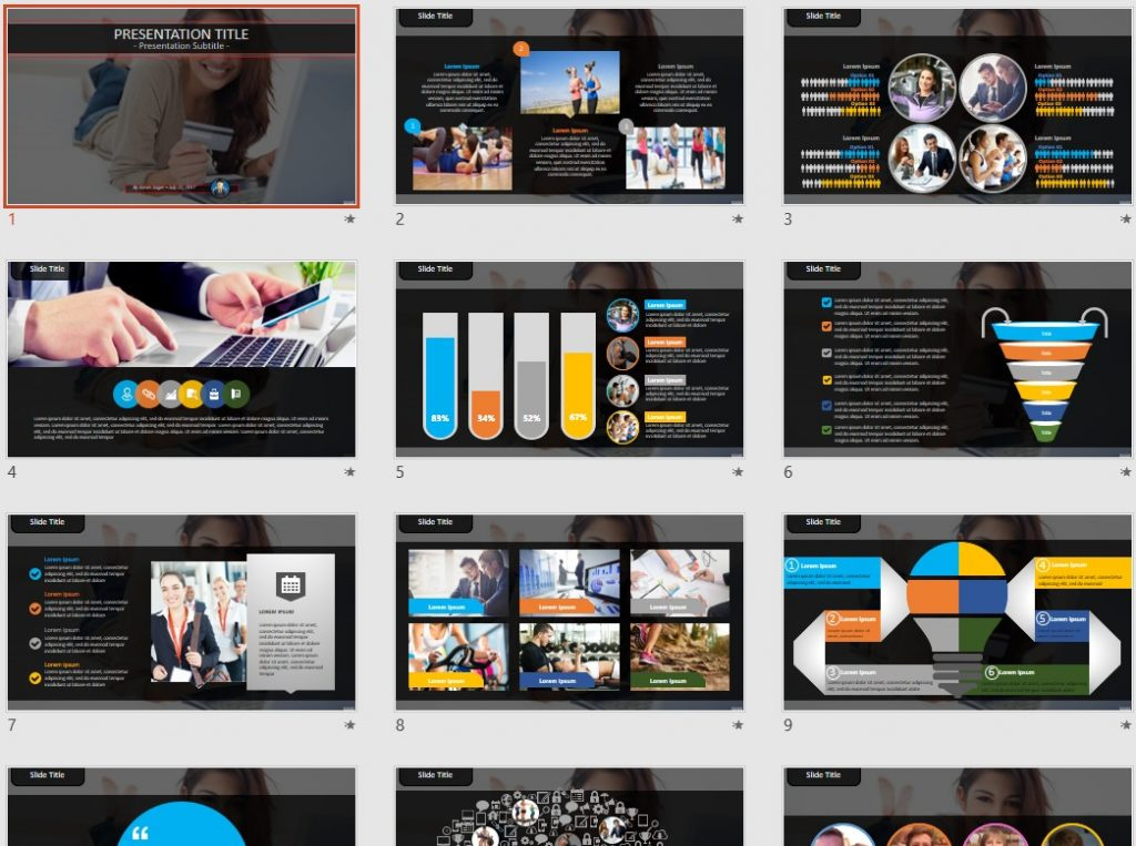 Free online shopping powerpoint 93644 sagefox powerpoint templates by james sager toneelgroepblik Images