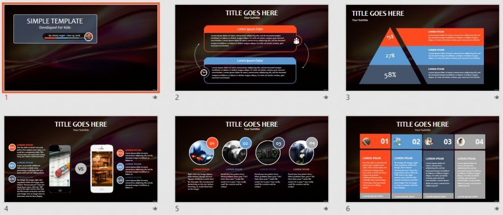 Free kids powerpoint abstract 100605 sagefox powerpoint templates by james sager toneelgroepblik Choice Image