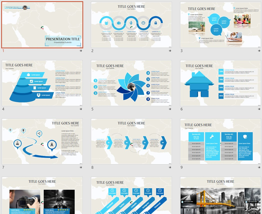 Free kuwait powerpoint 91649 sagefox free powerpoint templates by james sager toneelgroepblik Images